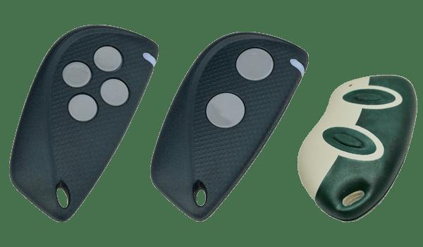 Alle fjernbetjeninger sammen - Remote control reader