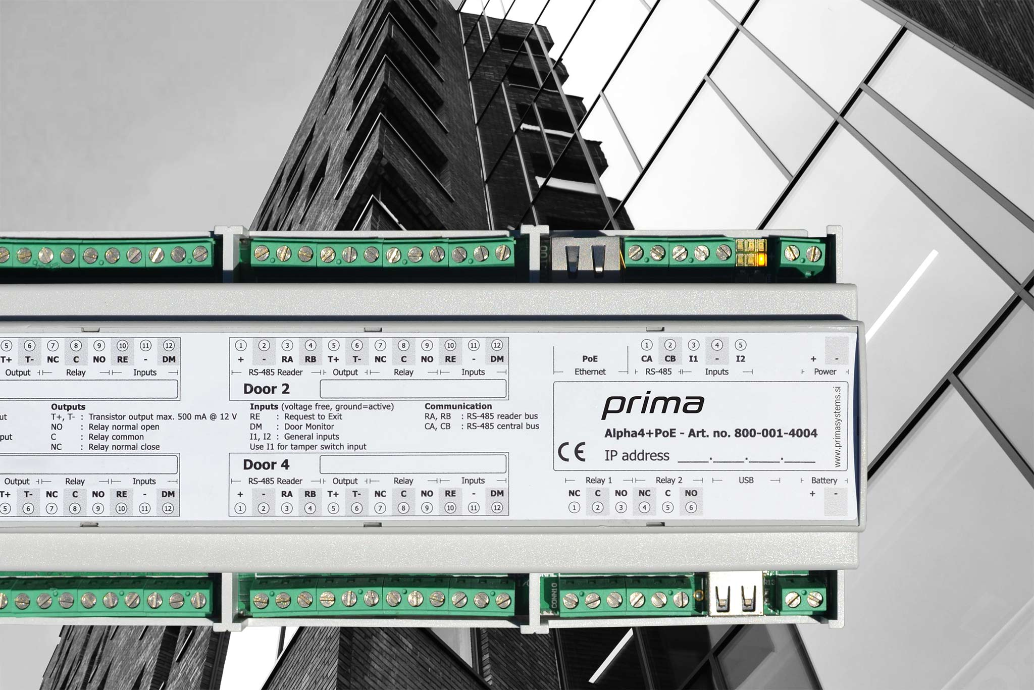 alpha prima - FlexAir® – Connects everything in one system