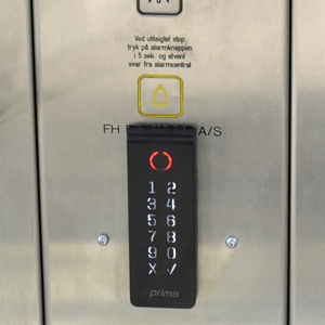 alpha elevator oversigt2 300x300 - Alpha Fire Central - System surveillance central