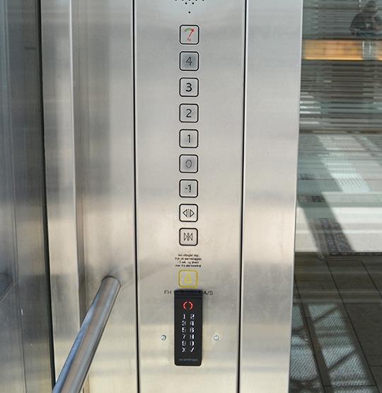 elevatorstyring 540 555 - Elevator control